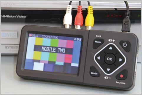 液晶付きのVHSデジタル化専用レコーダーとは?