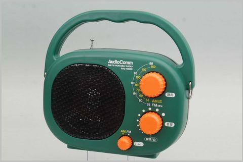 キャンプに最適な大音量の「豊作ラジオ」とは?