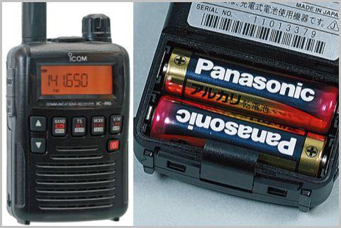盗聴器を高感度で受信「IC-R6」は低燃費設計