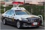 自ら隊パトカーは信号無視や通行区分違反に注意