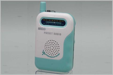 電池寿命168時間と驚異的に長いポケットラジオ