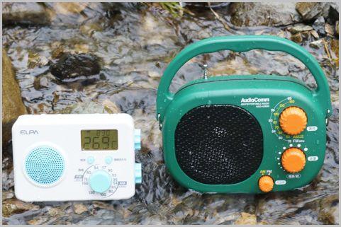 キャンプに持って行きたいラジオのおすすめは?