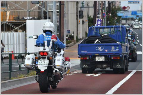 白バイ隊員が教える覚えのない交通違反の対処法