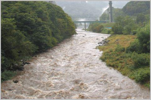 河川の増水状況など地元情報が入る防災無線とは