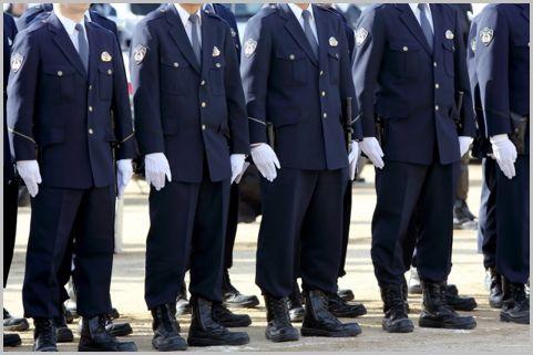 警察官の制服「冬服・合服・夏服」着用期間は?