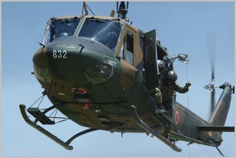 災害時のヘリによる救出活動で使われる周波数