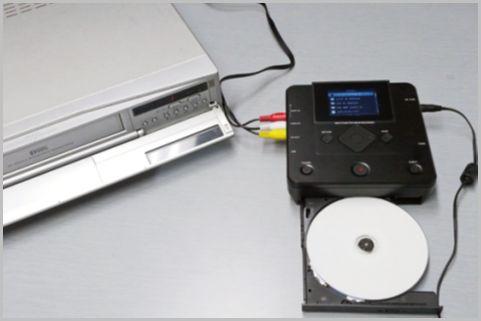ビデオテープはDVDにダイレクトにダビングする
