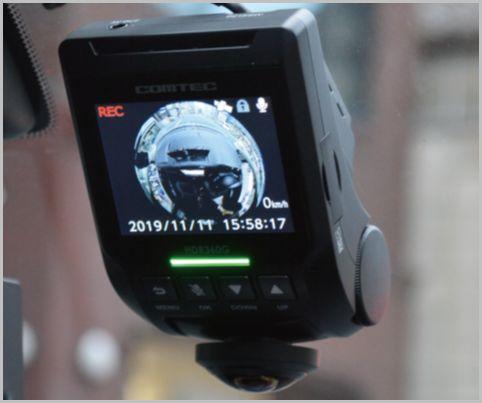1つのカメラで全方位カバー「ドラレコ」新潮流