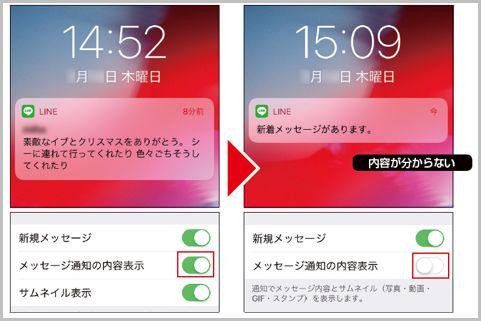 LINEのメッセージが外部に漏れるのを防ぐ方法