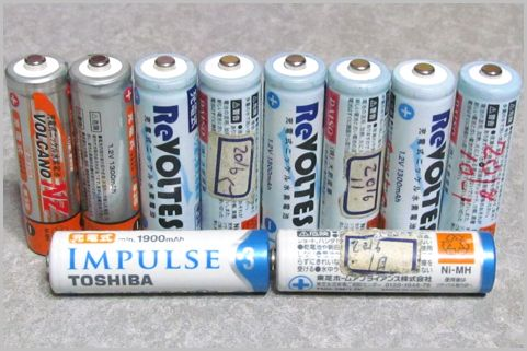 単3充電池「100均vs.メーカー品」2年使った結果