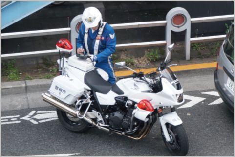 白バイ隊員の「スピード違反」待ち伏せポイント