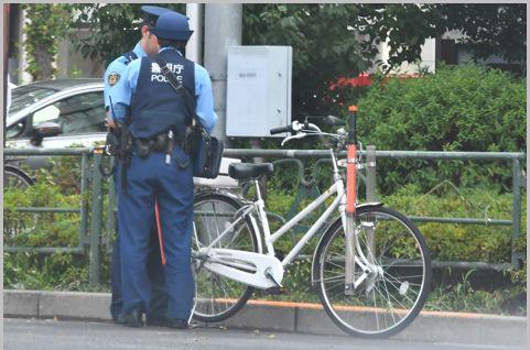 警察の自転車「白チャリ」は1台いくらで購入?