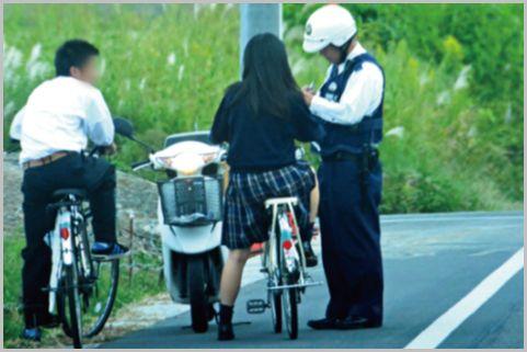 職務質問は自転車から降りて対応すると早く解放