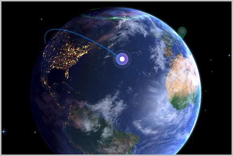 今どの位置に「人工衛星」がいるかわかるアプリ