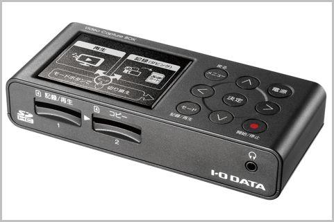 ビデオテープをPCなしでSDカードにデジタル化