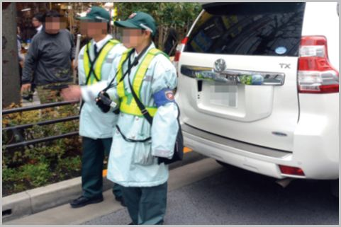 見張役がいる駐車違反を監視員がスルーする理由