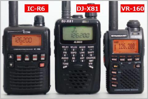 2万円を切るエアーバンド受信機「IC-R6」の魅力