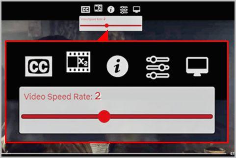 Netflixの再生速度などをカスタマイズする方法