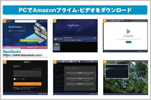 Amazonプライム・ビデオをダウンロードする方法