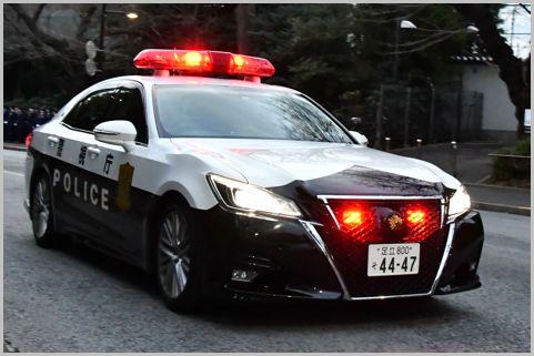 交通違反を専門に取締る「白黒パトカー」判別法