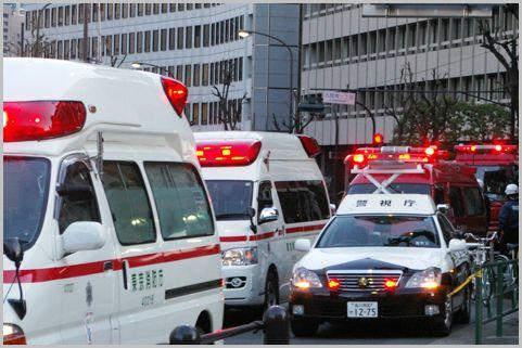 パトカーや消防車のサイレンで緊急度を知る方法