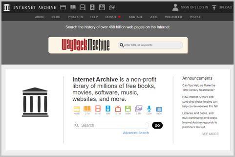 「Internet Archive」で消えたページを見る方法