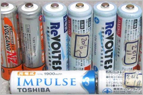 ダイソーとセリアの充電池を2年使い続けた結果