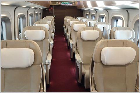 新幹線の「グランクラス」に格安で乗車する方法