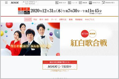 NHK紅白歌合戦は2020年最高視聴率を稼げるか?