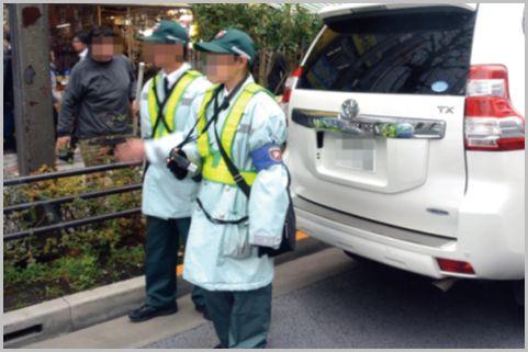 監視員が駐車違反を見逃す場所と見逃さない場所