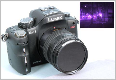 市販デジカメを手っ取り早く赤外線カメラに改造