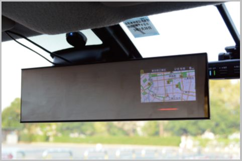 ミラー型レーダー探知機にもレーザー対応モデル