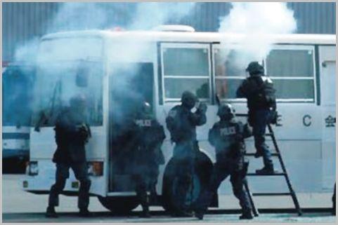 警察の特殊部隊で強行突入するのはSIT?SAT?