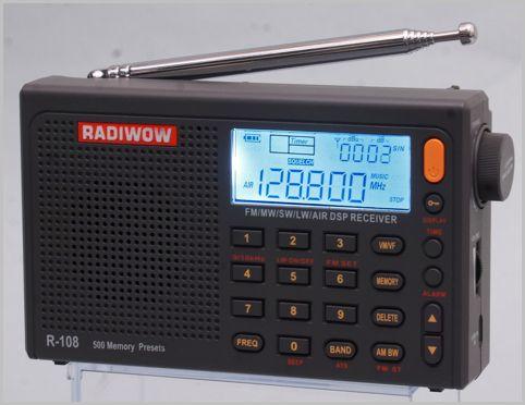 エアーバンドが聞けるラジオは受信機の半額以下