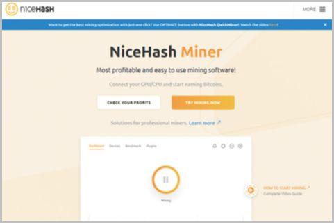 お手軽マイニングサービス「NiceHash」の使い方