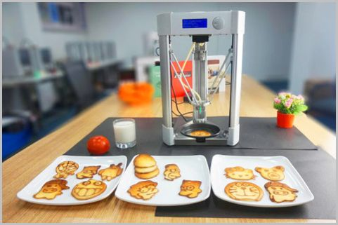 キャラものパンケーキが自在に作れるプリンター