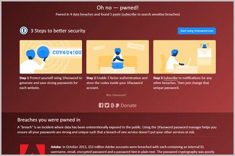 パスワード流出をメールアドレスから調べる方法