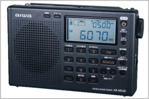 アイワのBCLラジオは「AR-MD20」がコスパで買い