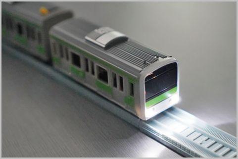 ダイソー「プチ電車」ヘッドライト光らせる改造