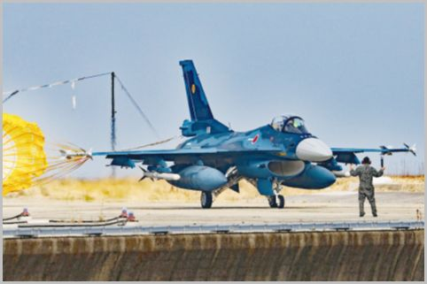 F-2戦闘機が離着陸「築城基地」の撮影ポイント