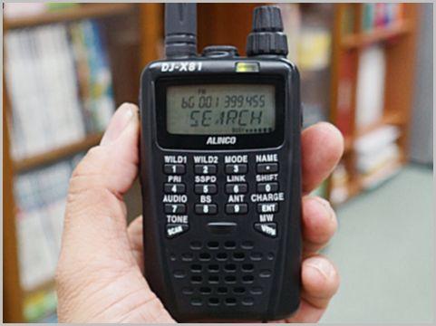 受信機の「盗聴発見機能」どうやって使うもの?