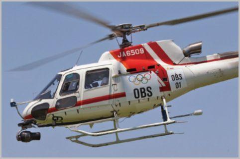 オリンピック開会式上空で交わされたヘリの交信