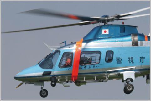 オリンピックで全国から集結した警察ヘリの交信